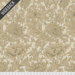 Chrysanthemum Toile Backing in Taupe