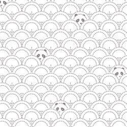 Hidden Panda Knit in Cottonbud