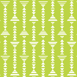 Little Tribal Stripe in Lime
