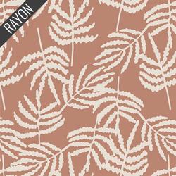 Ferngully Rayon in Cinnamon