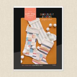 Candlelight Stocking Project Sheet