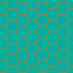 Hex in Teal