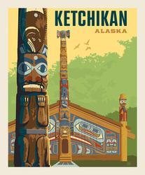 Poster Panel in Ketchikan