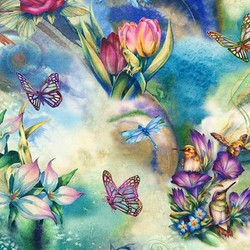 Fairies in Garden