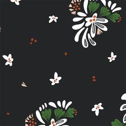 Bouquet Toss in Black