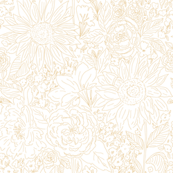 Paperie in Daffodil on White
