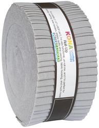 """Kona Solid 2.5"""" Strip Roll in Ash"""