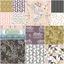 Odette Fat Quarter Bundle in Sucre
