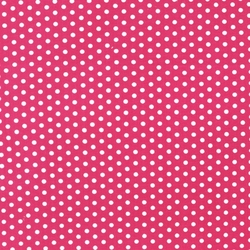 Small Spots in Hot Pink
