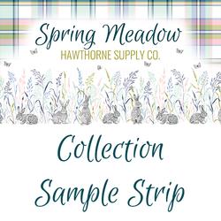 Spring Meadow Sample Strip