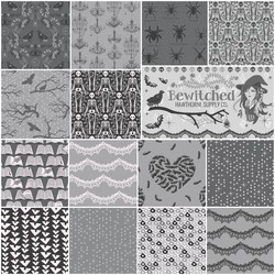 Bewitched Fat Quarter Bundle in Noir