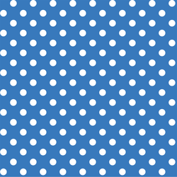 Candy Dot in Cerulean