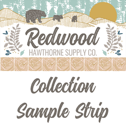 Redwood Sample Strip