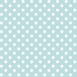 Candy Dot in Glacier Blue