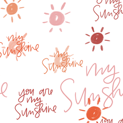 You Are My Sunshine in Afternoon Sun
