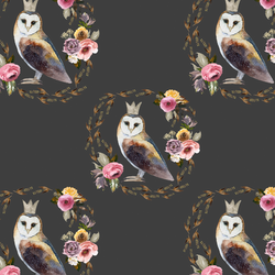 Cambridge Owl in Onyx
