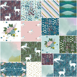 Painted Unicorns Fat Quarter Bundle