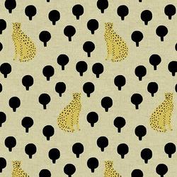Cheetahs Linen in Natural
