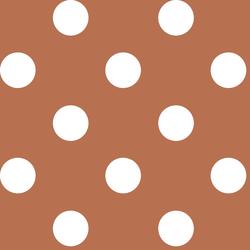 Jumbo Dot in Terracotta