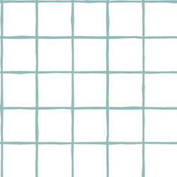 Windowpane in Pool on White