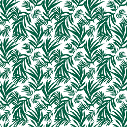 Little Palm Leaves in Green