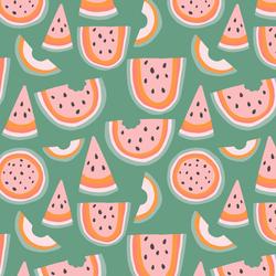 Little Rainbow Melon in Basil Green