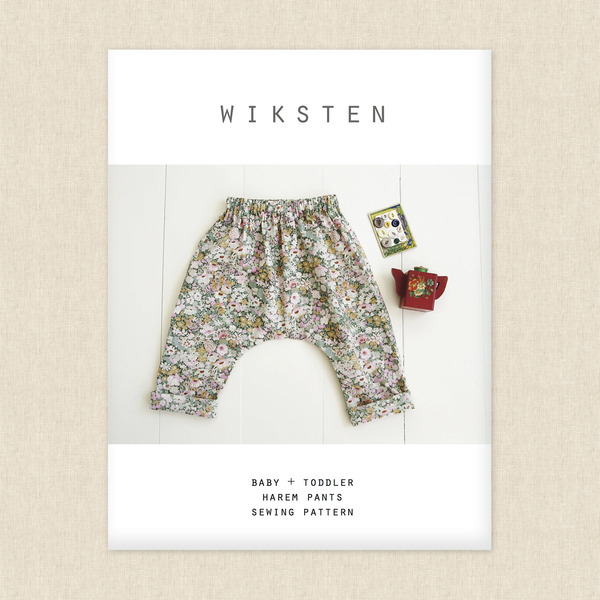 Harem Pants Sewing Pattern by Wiksten at Hawthorne Supply Co