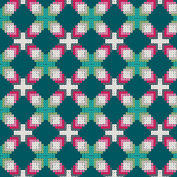 Ornate Parquetry in Jeweled