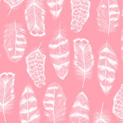 Plume in Rose Pink