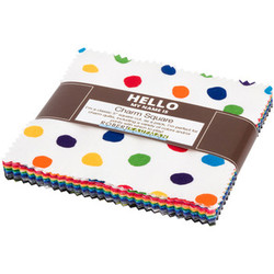 """Dot and Stripe Delights 5"""" Square Pack"""