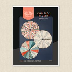 Candlelight Tree Skirt Project Sheet