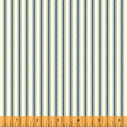 Ticking Stripe in Navy
