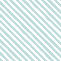 Rogue Stripe in Glacier Blue