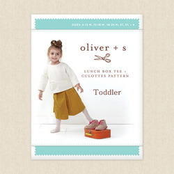 Toddler Lunch Box Tee and Culottes