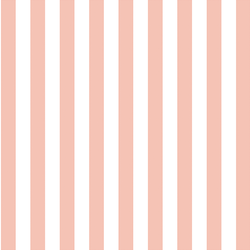 Candy Stripe in Petal