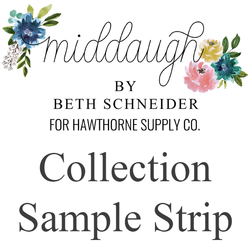 Middaugh Sample Strip