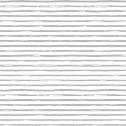 Watercolor Stripe in Pebble