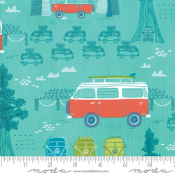 Travel Van in Sea Green