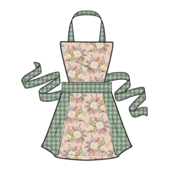 Harvest Apron Panel in Autumn Fawn