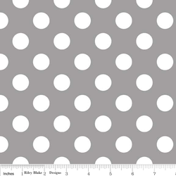 Medium Dots in Gray