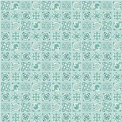 Argyll Tile in Aqua