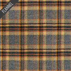 Mammoth Tartan Plaid Flannel in Maize
