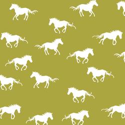 Horse Silhouette in Zest