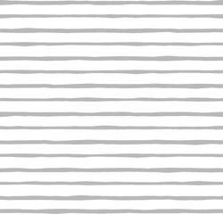 Artisan Stripe in Pebble on White