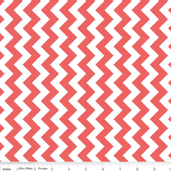 Small Chevron in Rouge