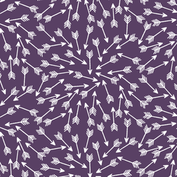 Arrows in Aubergine
