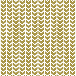 Broken Chevron in Gold