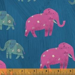 Starry Elephants in Peacock