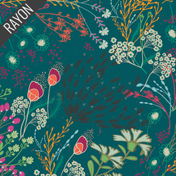 Meadow Rayon in Bold