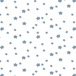 Star Light in Dusk on White